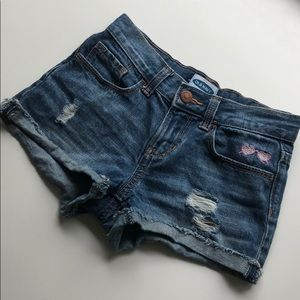 Old Navy Ripped Jean Shorts